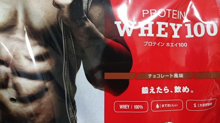 DNS PROTEIN WHEY100(チョコレート風味)のレビュー